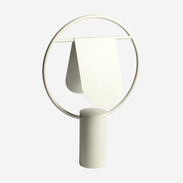 Table lamp Anae, ivory white