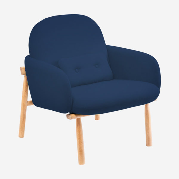 Armchair Georges, blue