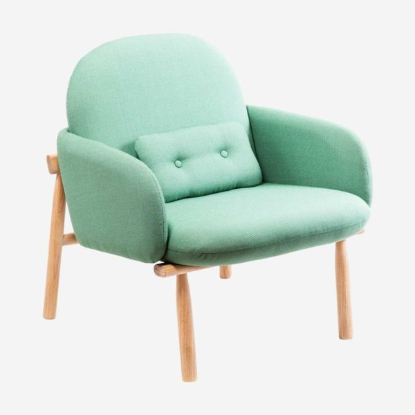 Armchair Georges, green