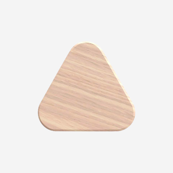 Coat hook Leonie 8cm, natural oak