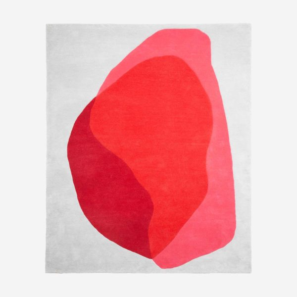 Rug Jane, red and pink
