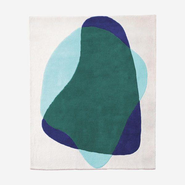 Vaip Serge, roheline ja sinine