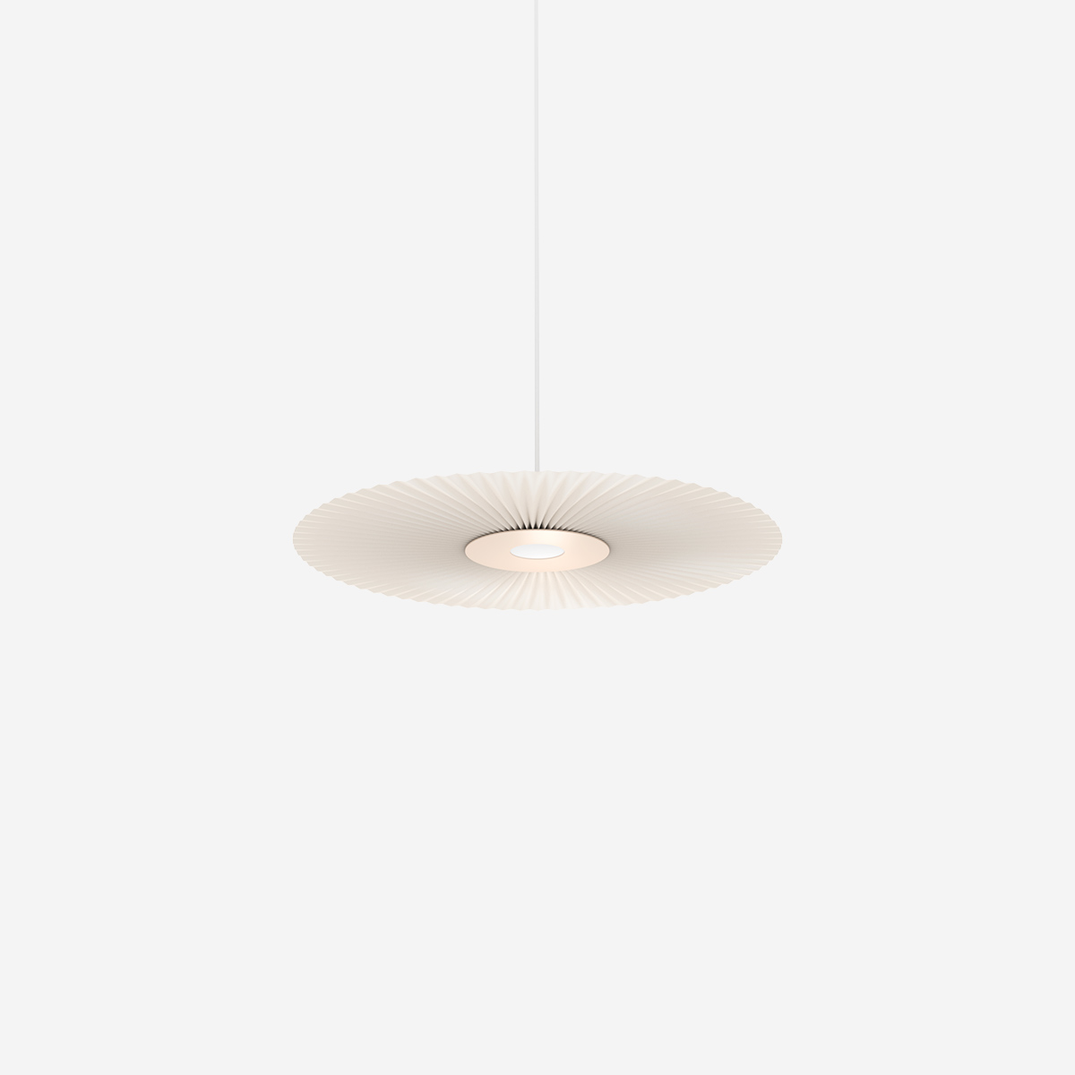 Pendant lamp carmen 55cm small light pink houm design shop
