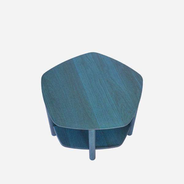 Tumba ja diivanilaud Abel 55cm, sinine
